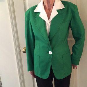80's Designer Silk Blazer